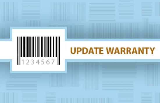 Update Warranty