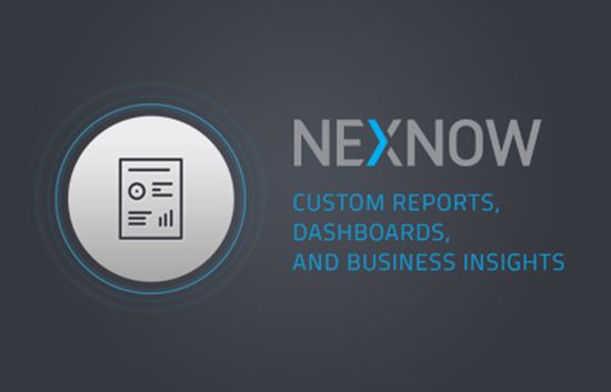 NexNow - Custom Reports, Dashboards and Business Insights