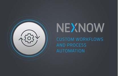 NexNow - Custom Workflows and Process Automation
