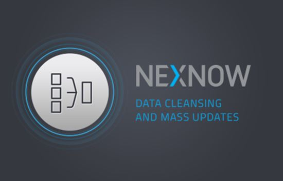 NexNow - Data Cleansing and Mass Updates