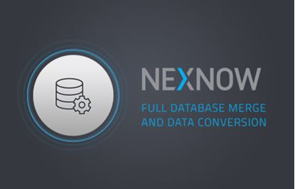 NexNow - Full Database Merge and Data Conversion
