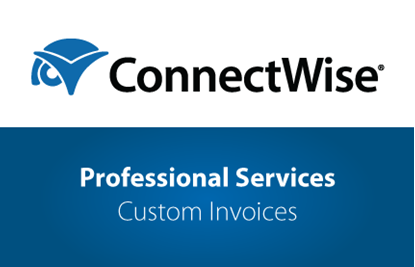 Picture of ConnectWise Professional Services - Custom Invoices