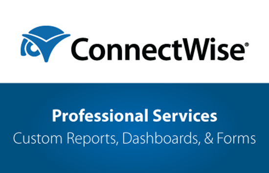 Picture of ConnectWise Professional Services - Custom Reports, Dashboards, & Forms