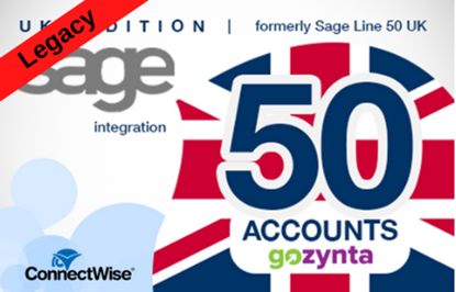 Picture of LEGACY - Mobius Connect for Sage 50 Accounts